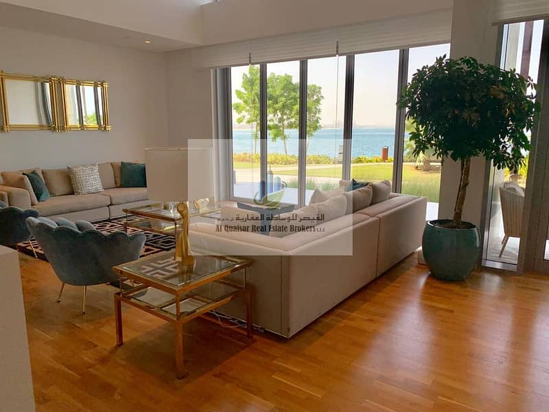 three bedrooms villa with 7 years payment plan .