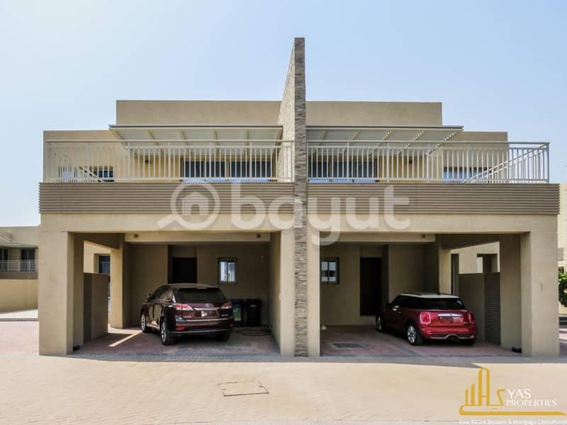 فیلا في فلل السدر واحة دبي للسيليكون 4 غرف 138000 درهم - 4360673