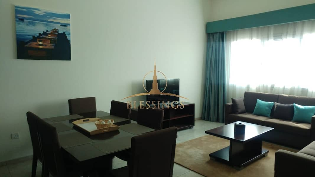 2 FULLY FURNISHED | PODIUM LEVEL | 2 BEDROOMS