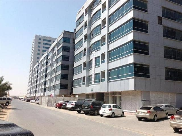 One bedroom apartment with close kitchen at garden city at 15000 yearly