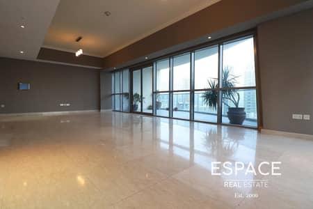 فلیٹ 3 غرف نوم للايجار في دبي مارينا، دبي - Massive 3 Beds Plus Maid  Full Marina View   Upgraded
