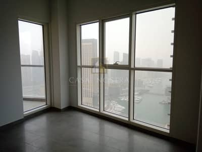 3 Bedroom Flat for Rent in Dubai Marina, Dubai - Full Marina View Brand New 3BR with Balcony Chiller Free