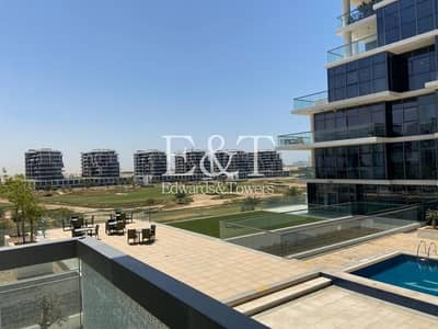 Studio for Rent in DAMAC Hills (Akoya by DAMAC), Dubai - Golf and Pool View Close to Carrefour | Multi chqs
