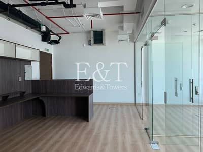 Office for Rent in Business Bay, Dubai - Boutique Office with partitions for rent