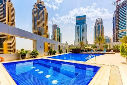 فلیٹ 1 غرفة نوم للبيع في دبي مارينا، دبي - 1 Bedroom I Dubai Marina I Vacant on transfer