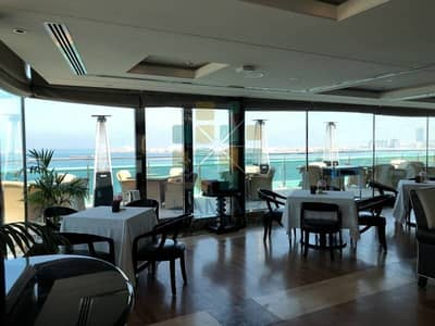Shop for Rent in Jumeirah Beach Residence (JBR), Dubai - 5* hotel amazing panoramic full sea view for bar lounge
