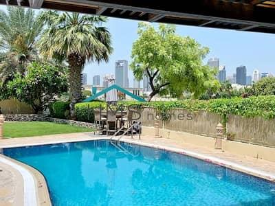 فیلا 5 غرف نوم للايجار في السهول، دبي - LAKE & SKYLINE VIEW 5 BED & Private pool Available end of June