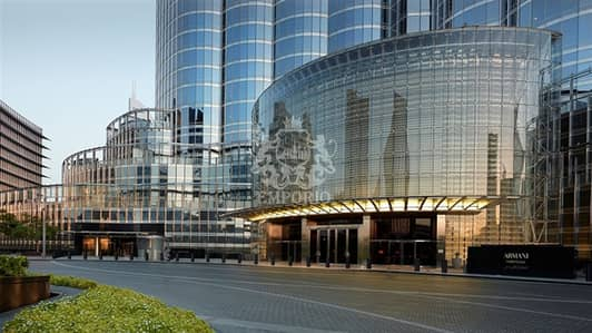 Most Luxurious Building In The World - Armani Hotel