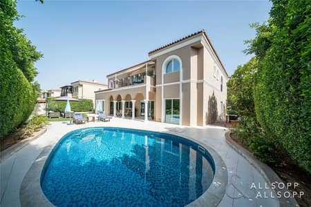 5 Bedroom Villa for Sale in Green Community, Dubai - Exclusive Listing | Upgraded | Private Pool