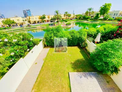 3 Bedroom Villa for Rent in The Springs, Dubai - Upgraded | 3BR+Study+Maidroom | Type 2M | Lake-view