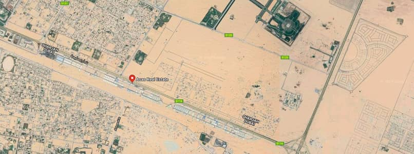Plot for Sale in Hoshi, Sharjah - Res. Land for sale in Hooshi - Prime Location Front of Park and Near to Mosque