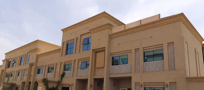 Studio for Rent in Khalifa City A, Abu Dhabi - amazing huge studio in ground floor with separate kitchen close to Marriott al forsan