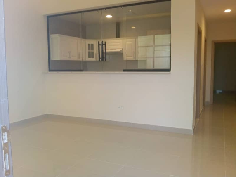 Private entrance 1 bedroom with 2 bathroom flat for rent in Khalifa city A