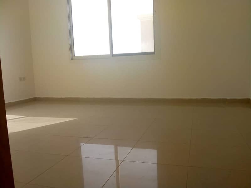 European community specious 2 bedroom with huge balcony flat for rent in Khalifa city A