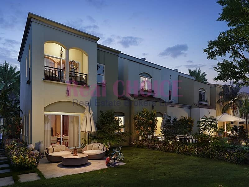 SEMI -DETACHED 3BR+Maid| GET 4% DLD WAIVER| 5 YEARS PAYMENT PLAN