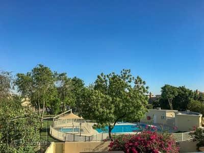 فیلا 3 غرف نوم للايجار في الينابيع، دبي - Backing Pool & Park   Available June   Good Location