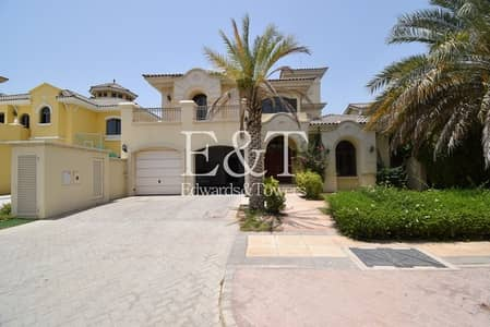 4 Bedroom Villa for Rent in Palm Jumeirah, Dubai - Private Pool | Atrium Entry | Even Number | PJ