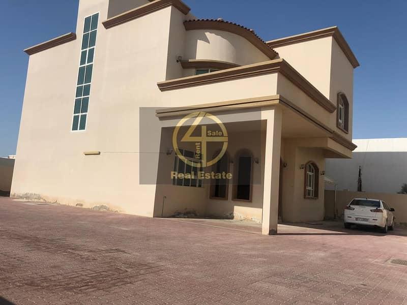 Luxury 4BR Villa Maid's + Garden in Khalifa A