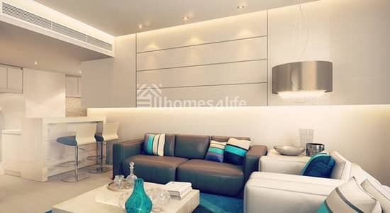 Brand New Studio Brand | New Apartment | Brand New Kitchen Appliances | High Floor | Parking | Pool