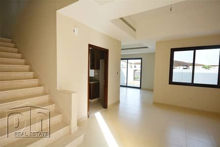 3 Bedroom Townhouse for Rent in Reem, Dubai - 2E - Directly Opposite Pool - Ready April