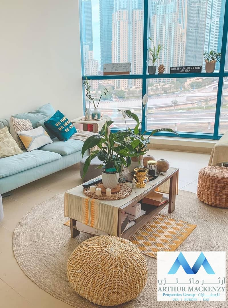 2 Fully Furnished 1BHK|Marina View