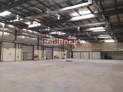 مستودع  للايجار في أم رمول، دبي - Excellent Location! Warehouse with Classic Office In Umm Ramool