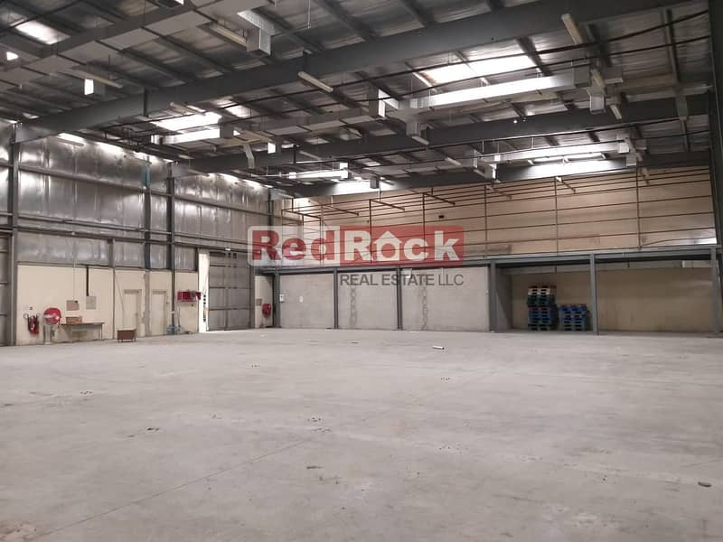 12 Excellent Location! Warehouse with Classic Office In Umm Ramool