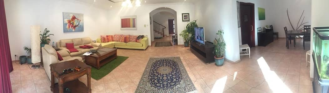 3 Bedroom Townhouse for Rent in Green Community, Dubai - Well Maintained 3BR + Study I Vacant: 2 July 2020