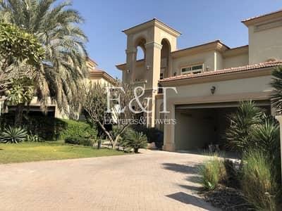 فیلا 4 غرف نوم للبيع في جزر جميرا، دبي - Large Plot  Fully Lake view   Fully Upgraded   Jl