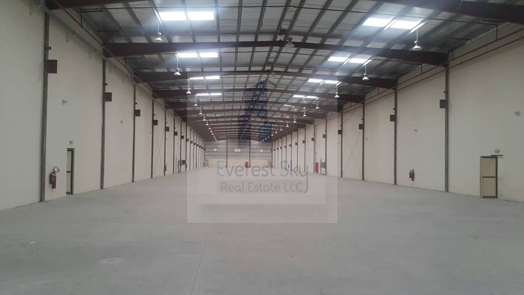 95000 sqft Wh with 1000 KW Power+Offices+10 rooms camp!!