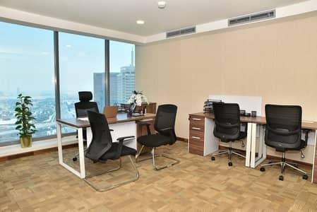 مکتب  للايجار في ديرة، دبي - مکتب في آيريس باي الخليج التجاري 999 درهم - 4608001