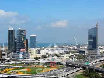 شقة 2 غرفة نوم للايجار في أبراج بحيرات الجميرا، دبي - شقة في برج السيف 3 أبراج السيف أبراج بحيرات الجميرا 2 غرف 100000 درهم - 4608126