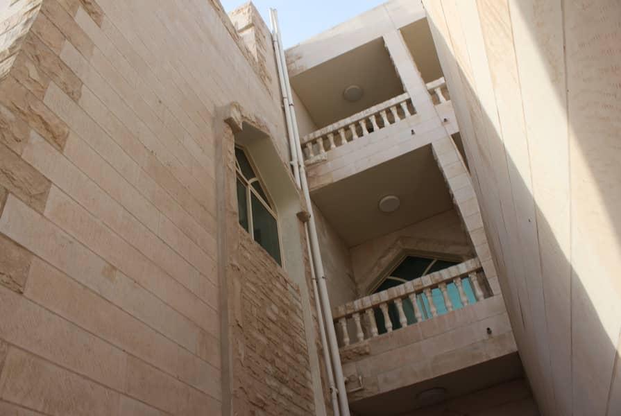 villa for rent in Al Mushrif - 9 master bedroom - private entrance