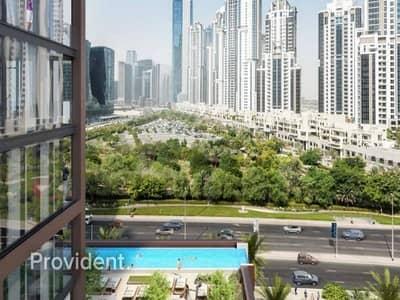 استوديو  للبيع في وسط مدينة دبي، دبي - Modern and Classic with Floor to Ceiling Windows