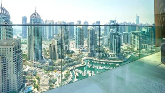فلیٹ 2 غرفة نوم للبيع في دبي مارينا، دبي - Furnished | Vacant On Transfer | Full Marina Views