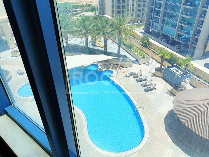 18 Fitted | Mid-floor | 6 Parking | Silicon Oasis