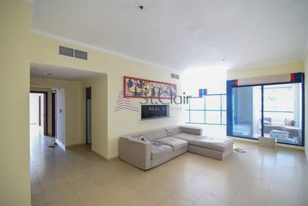 2 Bedroom Flat for Rent in Jumeirah Lake Towers (JLT), Dubai - Chiller Free I Exclusive Property I With Balcony