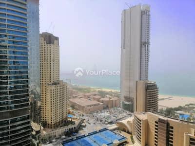 2 Bedroom Flat for Rent in Dubai Marina, Dubai - High Floor - Sea and Marina View