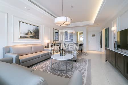 1 Bedroom Flat for Rent in Downtown Dubai, Dubai - Mid floor 1 Bed Apartment Full DIFC View