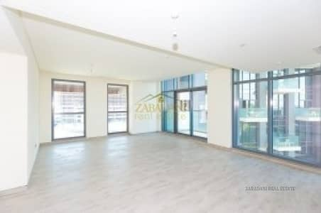 3 Bedroom Flat for Rent in Business Bay, Dubai - 135K  1CHQ 3 BR+M  WITH BURJ AND POOL VIEW