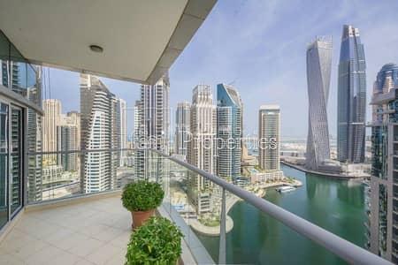 2 Bedroom Flat for Sale in Dubai Marina, Dubai - Rare 2Br | Full Sea and Marina View | Huge Terrace