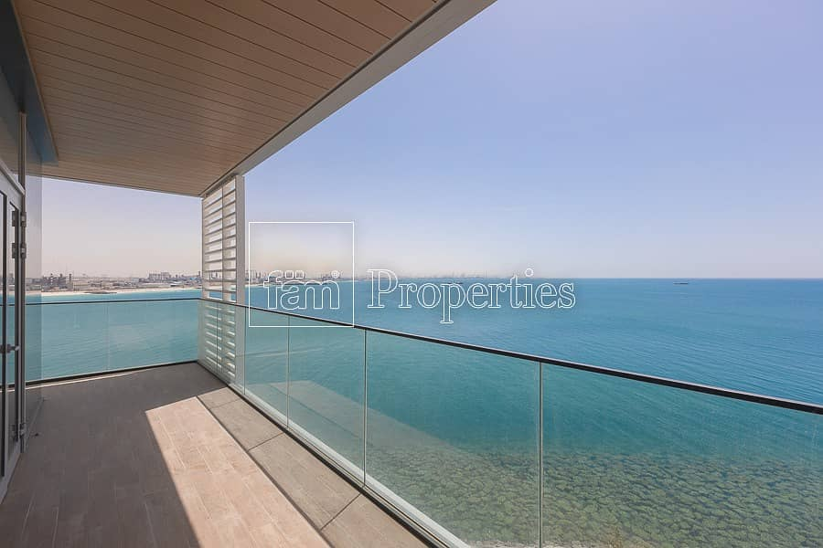 Panoramic Sea View | 4 BR + Maids Room | RENT