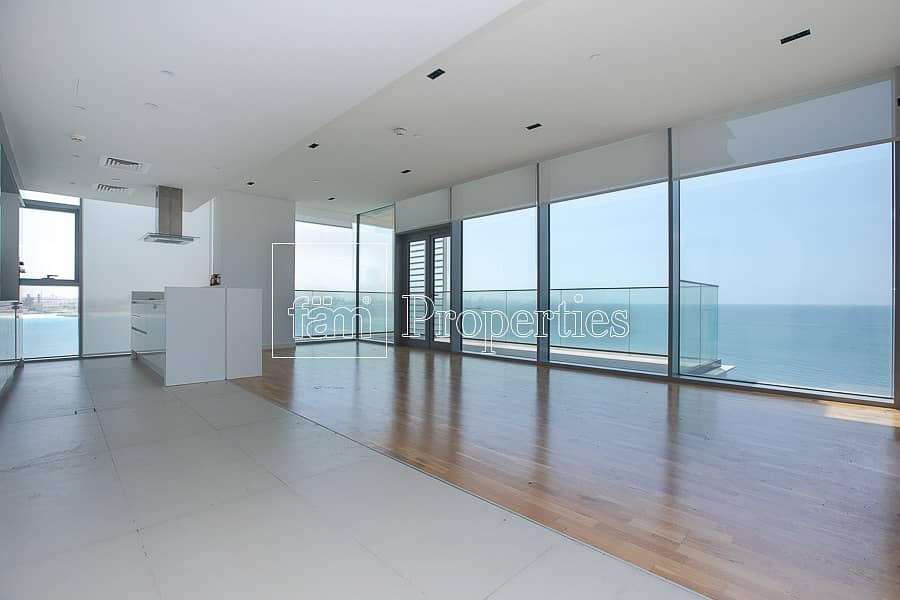 2 Panoramic Sea View | 4 BR + Maids Room | RENT