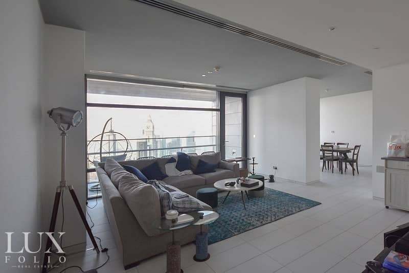 2 DIFC Specialist|Exclusive|Two Balconies|Sea View