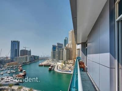 Spectacular view of Marina   Astonishing unit