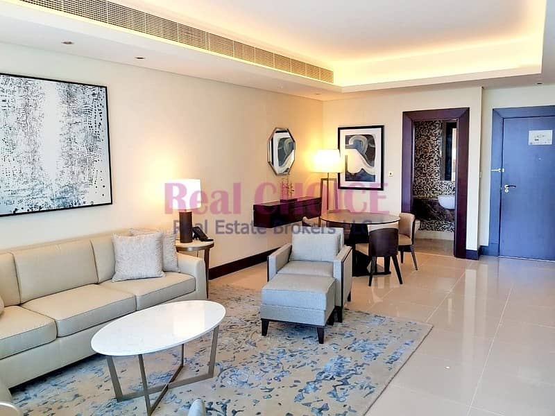Fully Furnished 1BR Hotel Apartment|Old Town Views