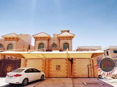 5 Bedroom Villa for Rent in Al Rawda, Ajman - For rent a second villa resident near Sheikh Ammar Street, the second piece of the continental street