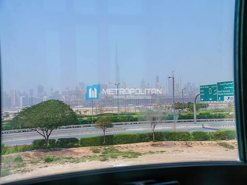 15 Vacant and Fully Furnished | W/ Burj Khalifa View