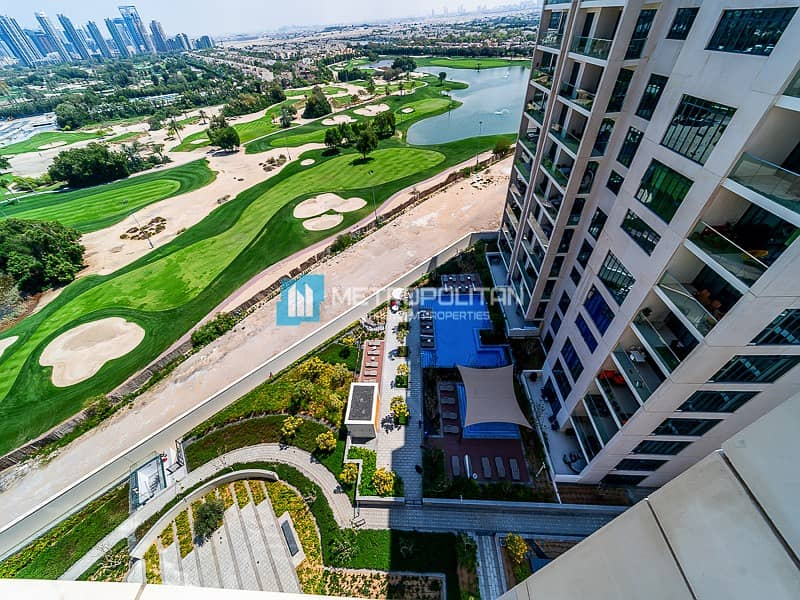 15 Fully Furnished I Vida Res B I Golf course View