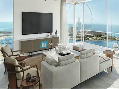 شقة 2 غرفة نوم للبيع في جميرا بيتش ريزيدنس، دبي - Very Rare 2 BR I High floor I Available for sale!